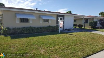 Deerfield Beach Single Family Home For Sale: 1740 NW 48th Pl