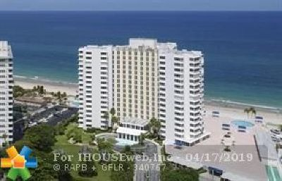 Lauderdale By The Sea Condo/Townhouse For Sale: 3900 N Ocean Dr #11G