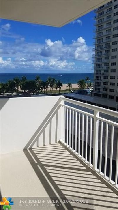 Pompano Beach Condo/Townhouse For Sale: 133 N Pompano Beach Blvd #401