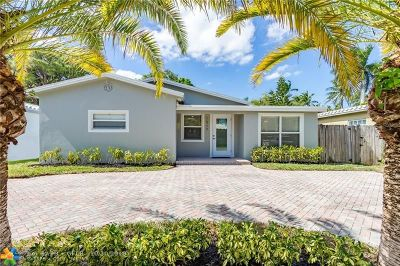 Fort Lauderdale Single Family Home For Sale: 1317 NE 16th Ave