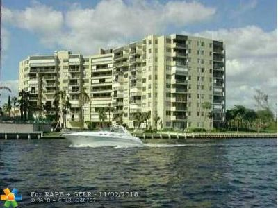 Pompano Beach Condo/Townhouse For Sale: 2900 NE 14th Street Cswy #107