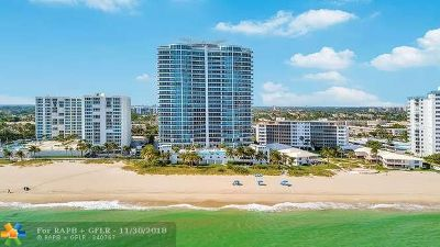 Pompano Beach Condo/Townhouse For Sale: 1600 S Ocean Blvd #904