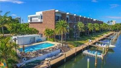Fort Lauderdale Condo/Townhouse For Sale: 1800 S Ocean Dr #108