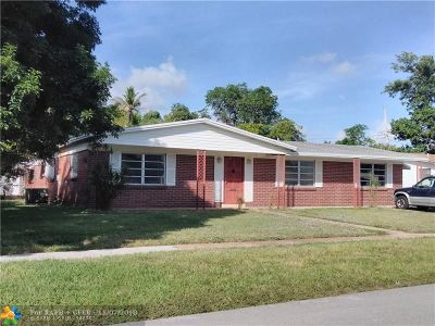 Lauderhill Single Family Home For Sale: 5881 NW 14th Ct
