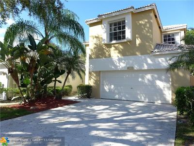 Coconut Creek Single Family Home For Sale: 5861 Eagle Cay Ln