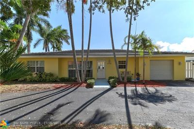Pompano Beach Single Family Home For Sale: 2428 SE 10th St