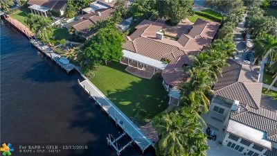 Fort Lauderdale Single Family Home For Sale: 709 N Rio Vista Blvd