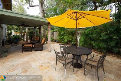 Fort Lauderdale Single Family Home For Sale: 1900 SW 24th Ter