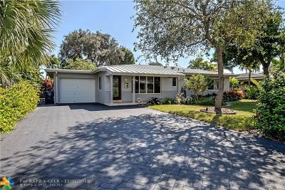 Wilton Manors Single Family Home For Sale: 2848 NE 17th Ave