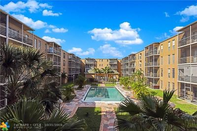 Lauderdale Lakes Condo/Townhouse For Sale: 4848 NW 24th Ct #314