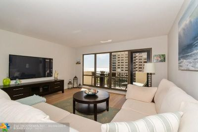 Lauderdale By The Sea Condo/Townhouse For Sale: 5100 N Ocean Blvd #701