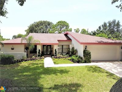 Boca Raton Single Family Home For Sale: 3024 NW 25th Ter