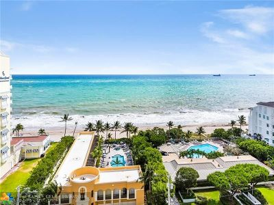 Fort Lauderdale Condo/Townhouse For Sale: 1905 N Ocean Blvd #14A