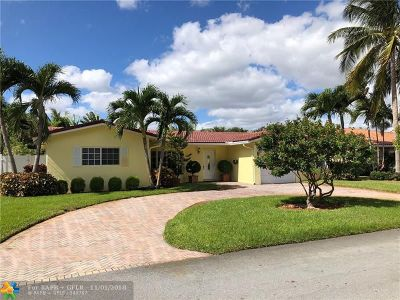 Fort Lauderdale Single Family Home For Sale: 6551 NE 20th Way