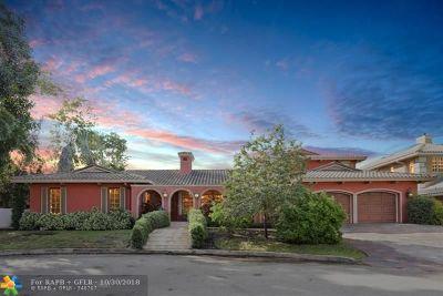 Fort Lauderdale Single Family Home For Sale: 3100 NE 46 St