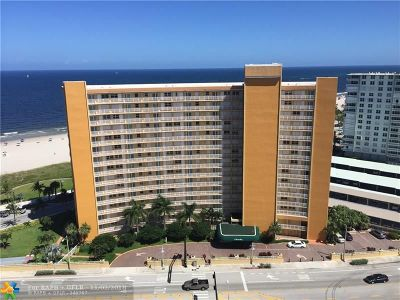 Pompano Beach Condo/Townhouse For Sale: 328 N Ocean Blvd #405