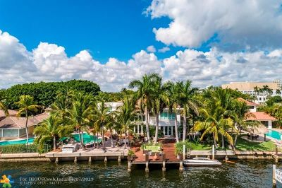 Fort Lauderdale Single Family Home For Sale: 736 Intracoastal Dr