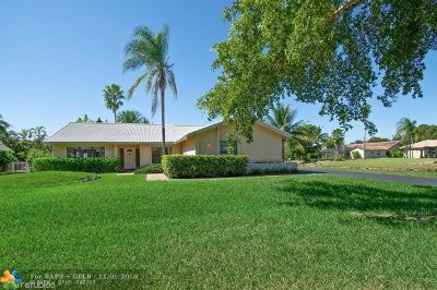 Coral Springs Single Family Home For Sale: 1528 NW 111th Ave