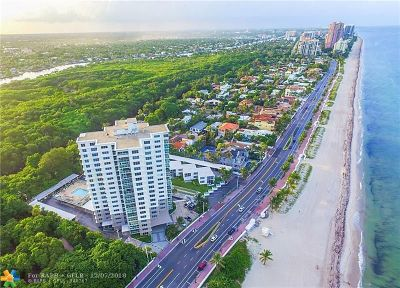 Fort Lauderdale Condo/Townhouse For Sale: 1151 N Fort Lauderdale Beach Blvd #6C