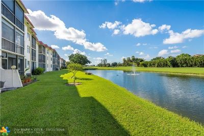 Pembroke Pines Condo/Townhouse For Sale: 9711 N Hollybrook Lake Dr #204