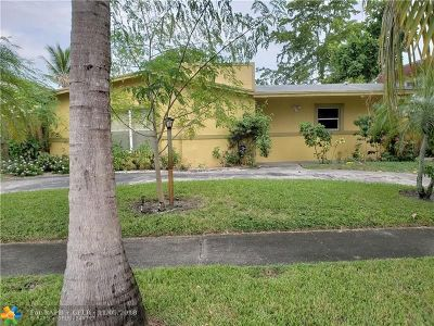 Lauderdale Lakes Single Family Home For Sale: 2940 NW 45th Ave