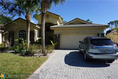 Palm Beach Gardens Single Family Home For Sale: 9630 NW Osprey Isles Blvd