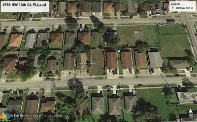 Fort Lauderdale Residential Lots & Land For Sale: 2769 NW 13th Ct