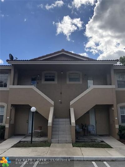 Coral Springs Condo/Townhouse For Sale: 11498 NW 43rd St #11498