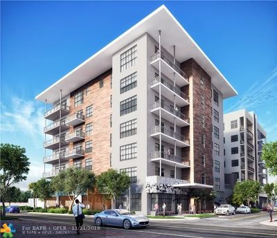 Fort Lauderdale Condo/Townhouse For Sale: 401 N.w. 1st Avenue #304