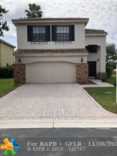 Coral Springs Single Family Home For Sale: 11272 NW 34th Ct