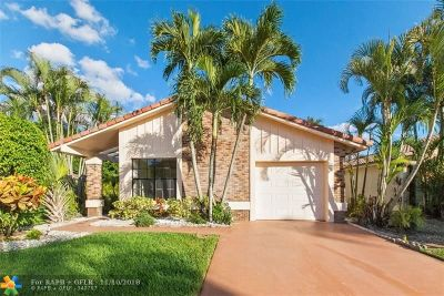 Boca Raton Single Family Home For Sale: 19554 Sea Pines Way