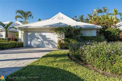 West Palm Beach Single Family Home For Sale: 9293 Heathridge Dr