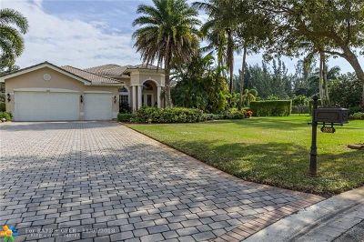 Davie Single Family Home Backup Contract-Call LA: 3852 Churchill Downs Dr