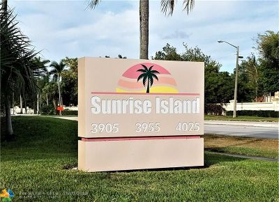 Sunrise Condo/Townhouse For Sale: 3955 N Nob Hill Rd #110