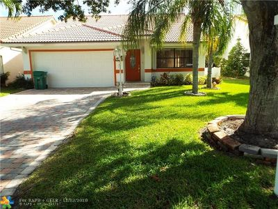 Coral Springs Single Family Home For Sale: 2655 NW 95th Ave.