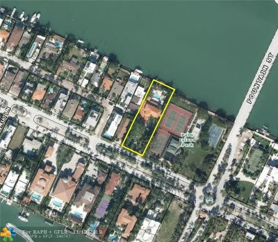 Miami Beach Single Family Home For Sale: 185 Palm Ave