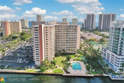 Fort Lauderdale Condo/Townhouse For Sale: 3233 NE 34th St #1606