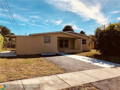 Lauderhill Single Family Home Backup Contract-Call LA: 950 NW 35th Ave