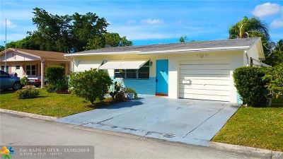 Margate Single Family Home For Sale: 1025 NW 69th Ave