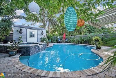 Oakland Park Multi Family Home For Sale: 672 NE 37th St