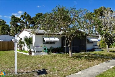 Fort Lauderdale Single Family Home For Sale: 3401 SW 13th Ct