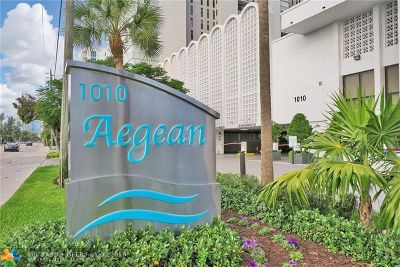 Pompano Beach Condo/Townhouse For Sale: 1010 S Ocean Blvd #1009
