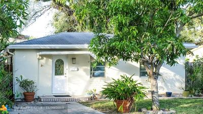 Fort Lauderdale Single Family Home For Sale: 829 SW 17th St