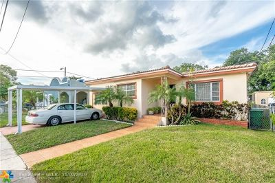 Miami Single Family Home For Sale: 1391 NW 56th St