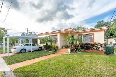 Miami Single Family Home Backup Contract-Call LA: 1391 NW 56th St