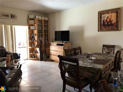 Sunrise FL Condo/Townhouse For Sale: $270,000