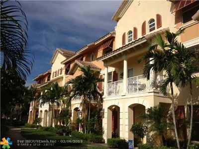 Boynton Beach Condo/Townhouse For Sale: 1440 Via Alferi #1440