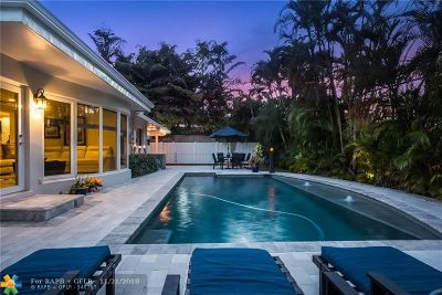 Sunrise Intracoastal Single Family Home For Sale: 2373 NE 8th St
