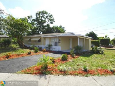 Pompano Beach Single Family Home For Sale: 570 NW 18th St