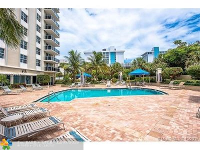 Fort Lauderdale Condo/Townhouse For Sale: 336 N Birch Rd #9A